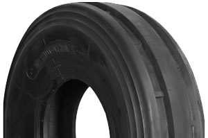 7.50-18 3-Rib 6PR Armour Tyre (includes tube)